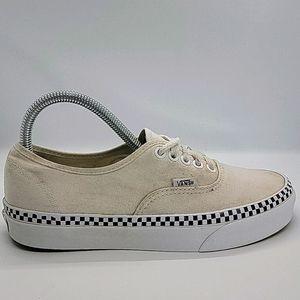 Unisex Vans canvas boat shoes
